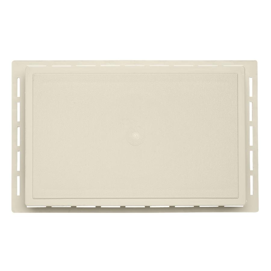 Durabuilt 1.625-in x 7.75-in Cream/Pebble Vinyl Universal Mounting Block