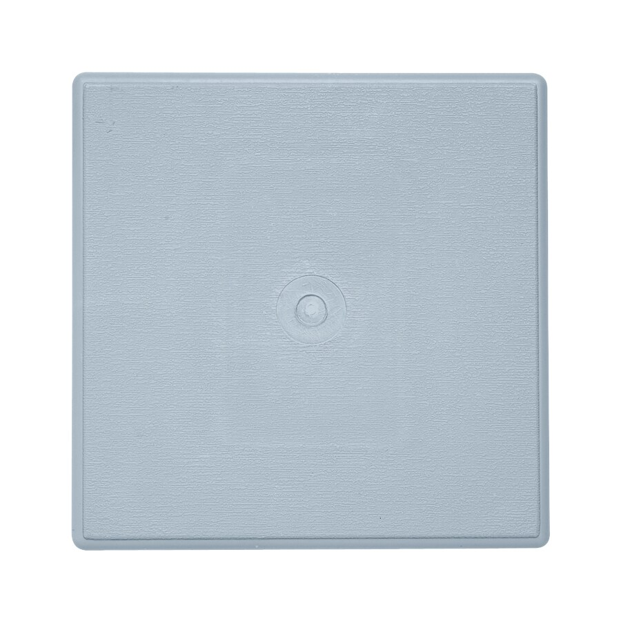 6.625-in x 6.625-in Blue Vinyl Universal Mounting Block