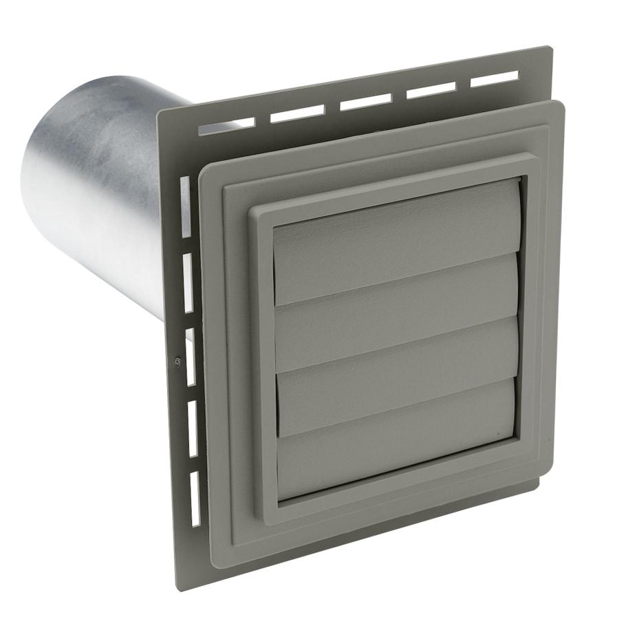 Durabuilt 4-in Dia Plastic R2 Exhaust Dryer Vent Hood