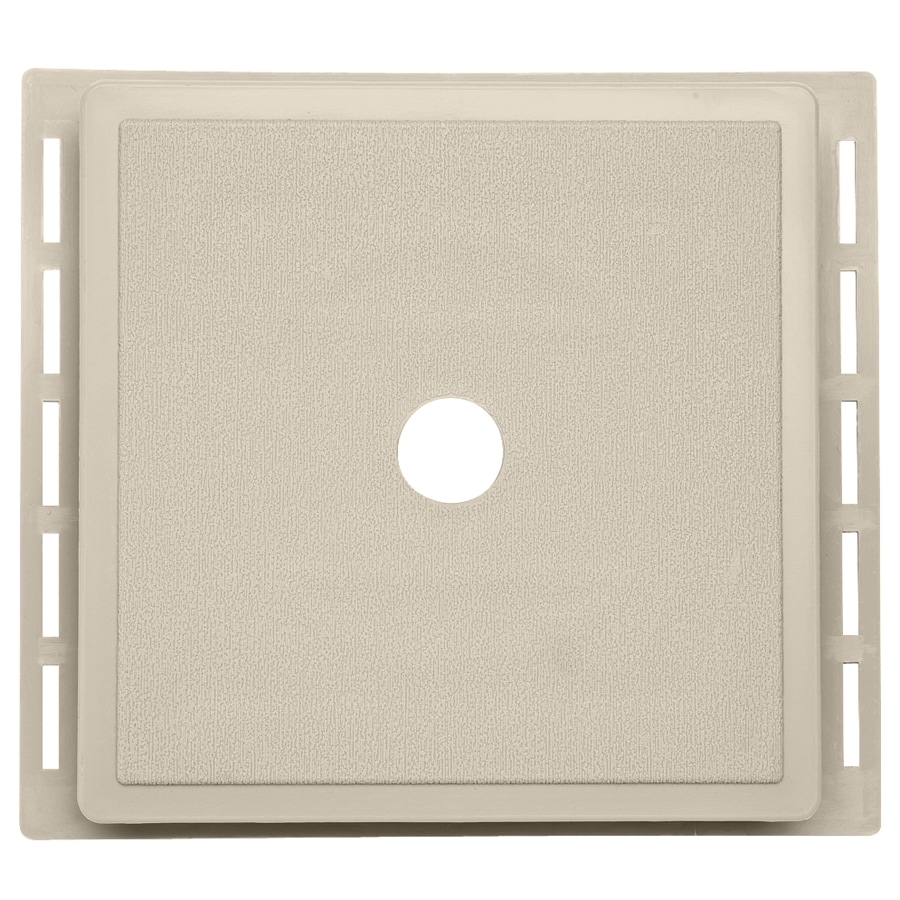 7-in x 7-in Tan Vinyl Universal Mounting Block