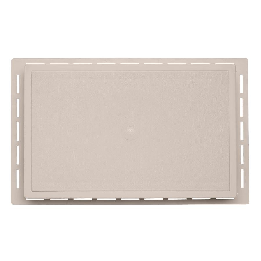 Durabuilt 1.625-in x 7.75-in Beige/Pebble Vinyl Universal Mounting Block