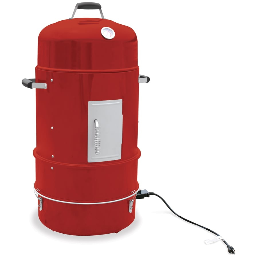 Master Forge 36-in 1600-Watt Red Porcelain Coated Electric Vertical Smoker