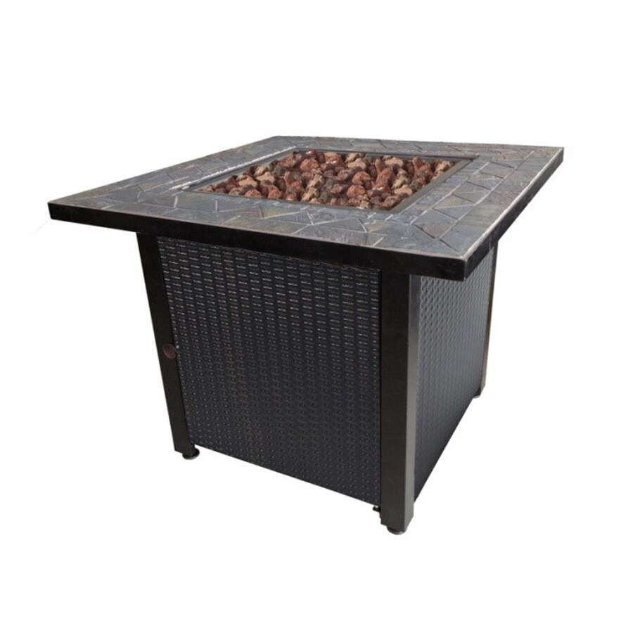 Endless Summer 30-in W 50,000-BTU Oil Rubbed Bronze Steel Liquid Propane Gas Fire Table