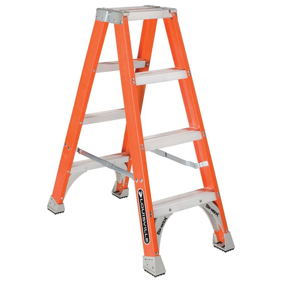 Louisville 3-ft Fiberglass 300-lb Type IA Step Ladder