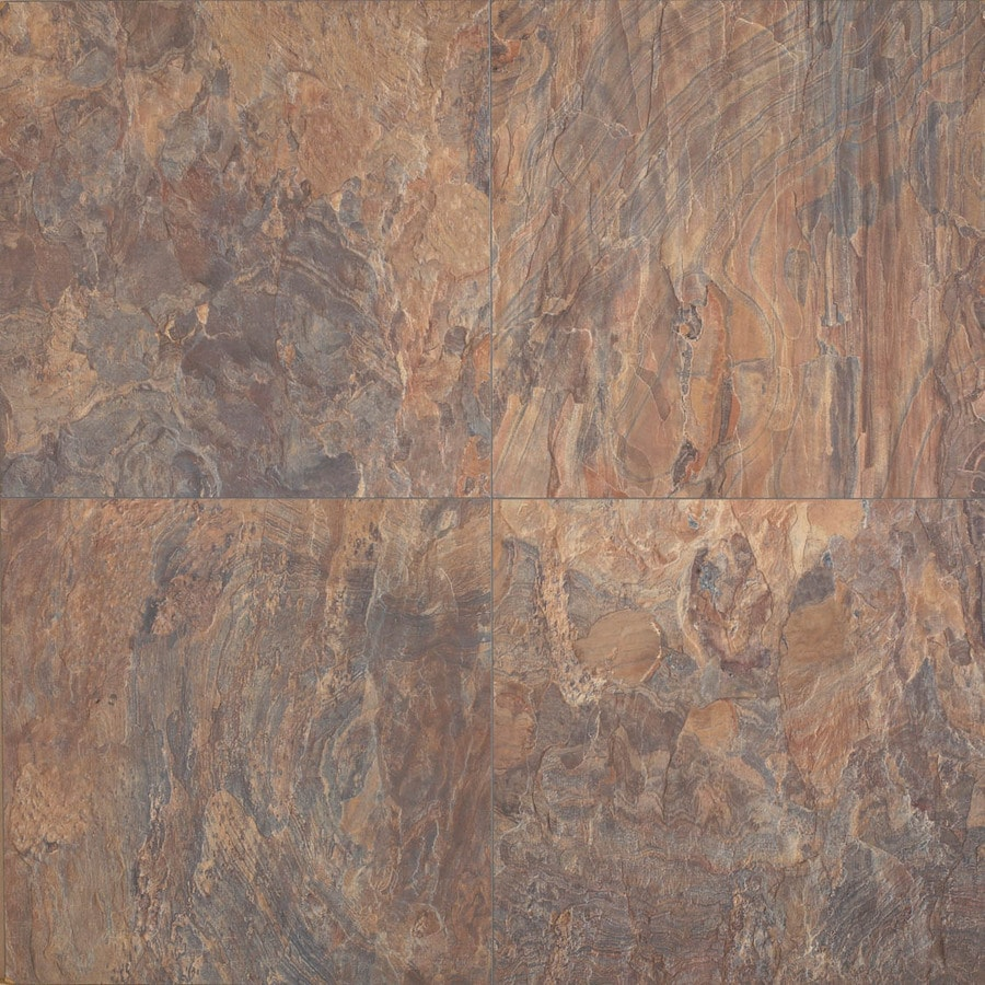 Columbia Flooring 15.59-in W x 1.29-ft L Desert Mist Smooth Laminate Tile and Stone Planks