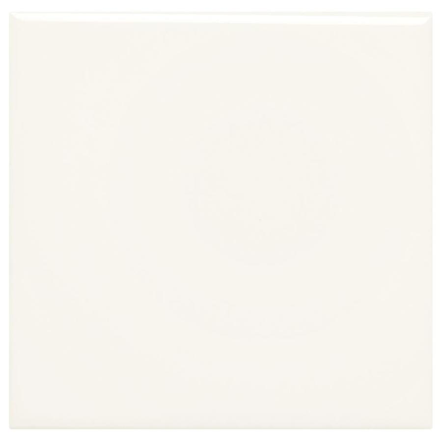 American Olean Starting Line White Gloss Ceramic Wall Tile (Common: 6-in x 6-in; Actual: 6-in x 6-in)