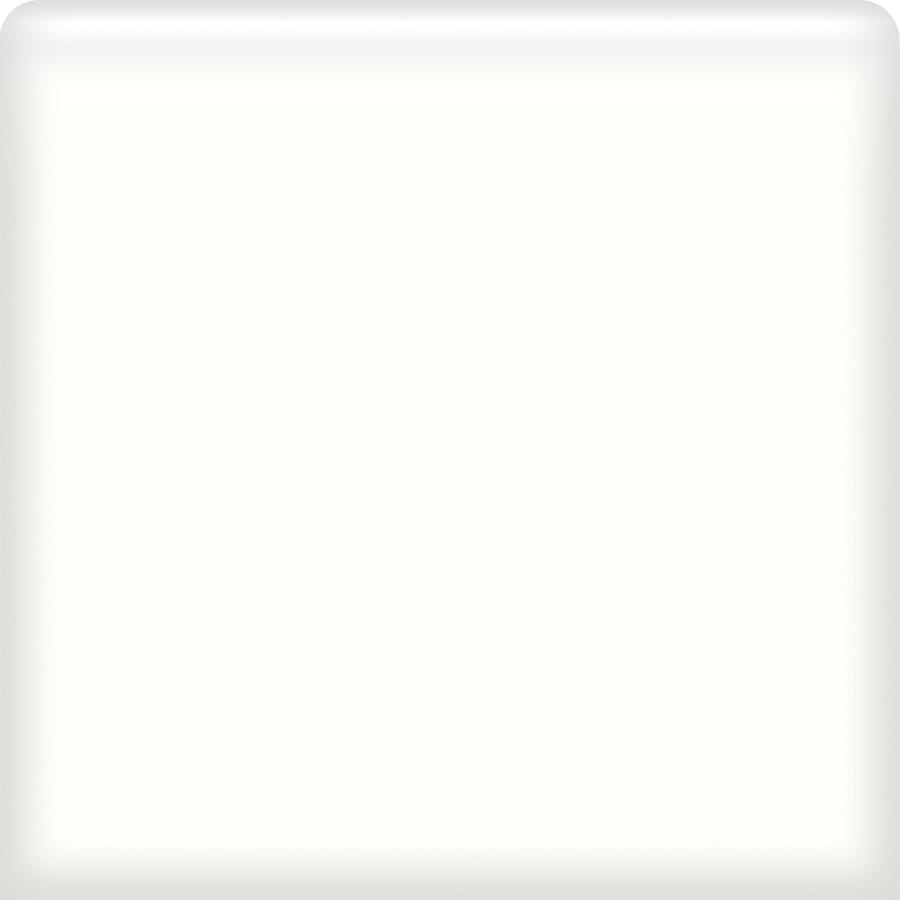 American Olean Matte Designer White Ceramic Bullnose Tile (Common: 4-in x 4-in; Actual: 4.25-in x 4.25-in)