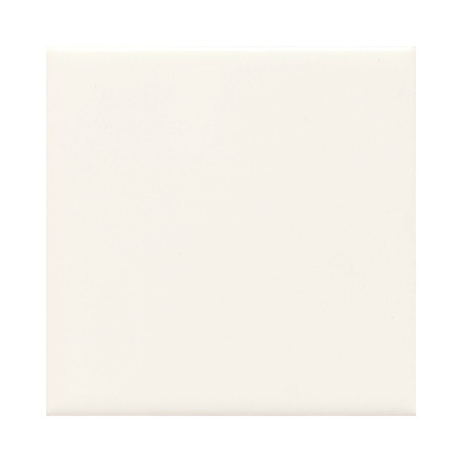 American Olean Bright 50-Pack Snow Mist Ceramic Wall Tile (Common: 6-in x 6-in; Actual: 6-in x 6-in)