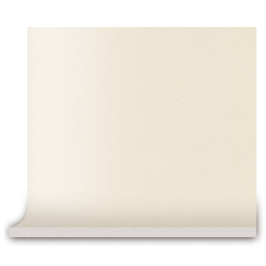 American Olean Bright Almond Ceramic Cove Base Tile (Common: 4-in x 4-in; Actual: 4.25-in x 4.25-in)