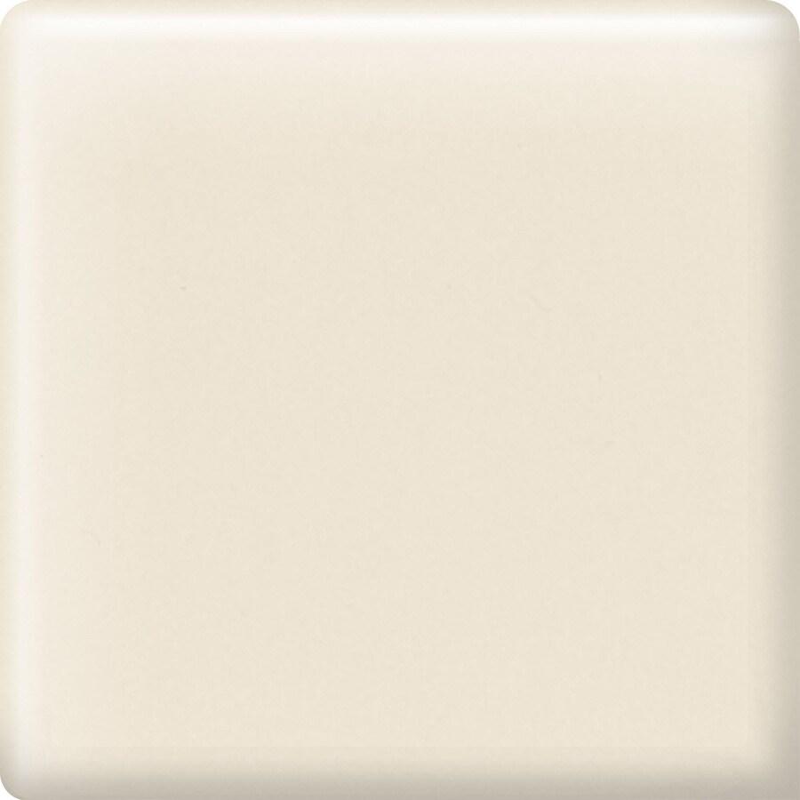 American Olean Bright Almond Ceramic Mud Cap Corner Tile (Common: 2-in x 2-in; Actual: 2-in x 2-in)