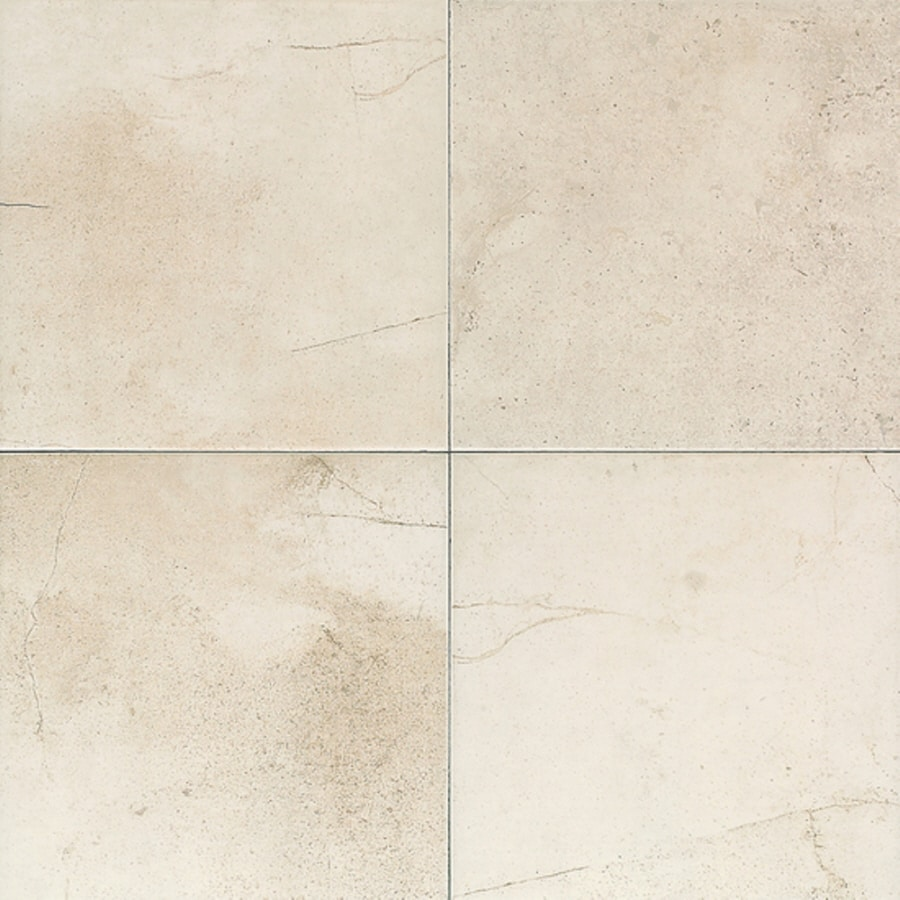 American Olean Costa Rei 5-Pack Pietre Bianca Porcelain Wall Tile (Common: 6-in x 6-in; Actual: 6-in x 6-in)