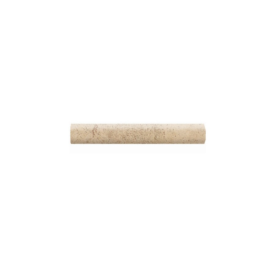 American Olean Costa Rei Oro Miele Ceramic Bullnose Tile (Common: 1-in x 6-in; Actual: 1-in x 6-in)