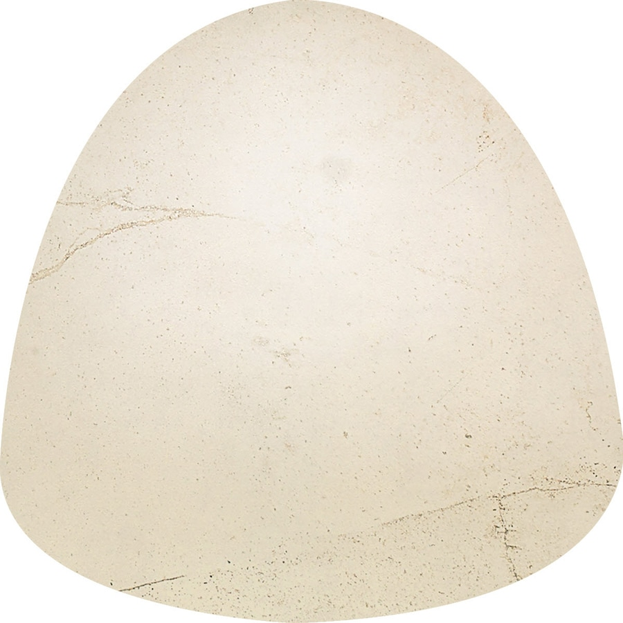 American Olean Costa Rei Pietre Bianca Ceramic Bullnose Tile (Common: 1-in x 1-in; Actual: 1-in x 1-in)