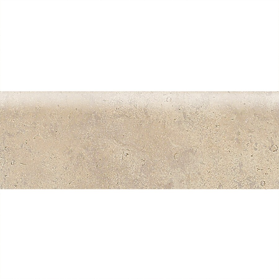 American Olean Costa Rei Sabbia Dorato Ceramic Bullnose Tile (Common: 2-in x 6-in; Actual: 2-in x 6-in)