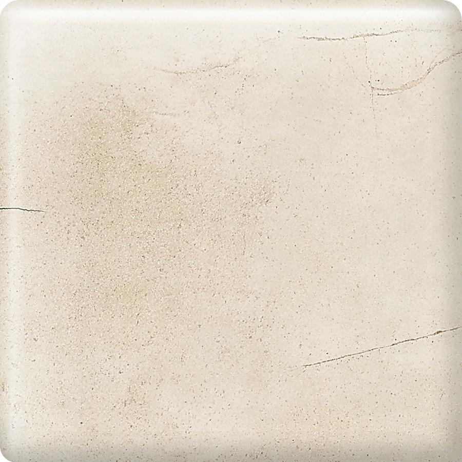 American Olean Costa Rei Pietre Bianca Ceramic Bullnose Tile (Common: 2-in x 2-in; Actual: 2-in x 2-in)