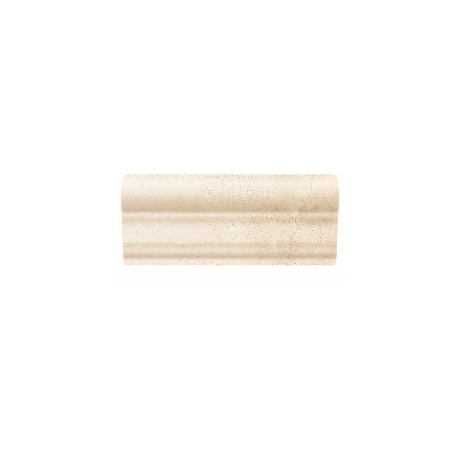 American Olean Costa Rei Pietre Bianca Ceramic Chair Rail Tile (Common: 2-in x 6-in; Actual: 2-in x 6-in)