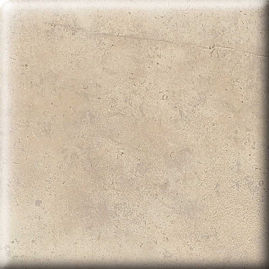 American Olean Costa Rei Sabbia Dorato Ceramic Bullnose Tile (Common: 2-in x 2-in; Actual: 2-in x 2-in)