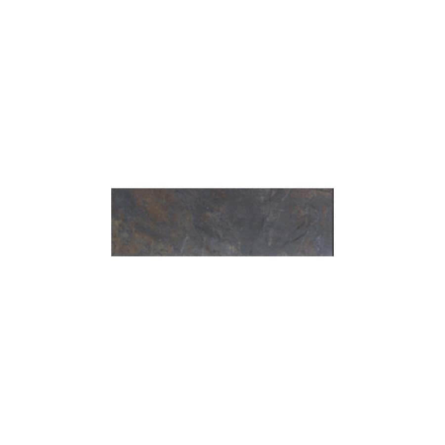 American Olean Amber Valley River Moss Glazed Porcelain Indoor/Outdoor Bullnose Tile (Common: 3-in x 13-in; Actual: 3-in x 13.12-in)