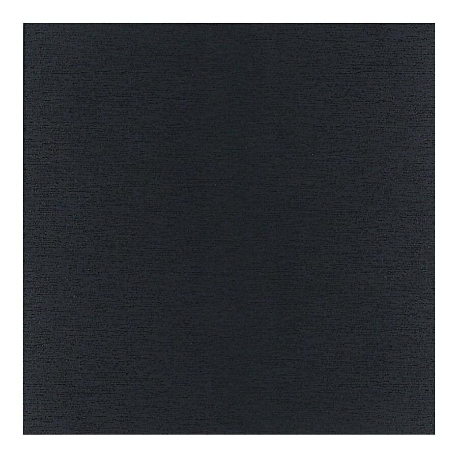 American Olean St Germain 11-Pack Noir Thru Body Porcelain Floor and Wall Tile (Common: 12-in x 12-in; Actual: 11.5-in x 11.5-in)