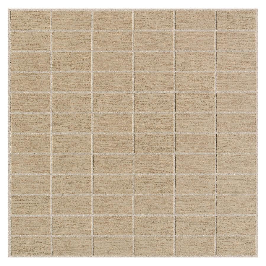 American Olean St Germain 11-Pack Chenile Brick Mosaic Thru Body Porcelain Floor and Wall Tile (Common: 12-in x 12-in; Actual: 11.5-in x 11.5-in)