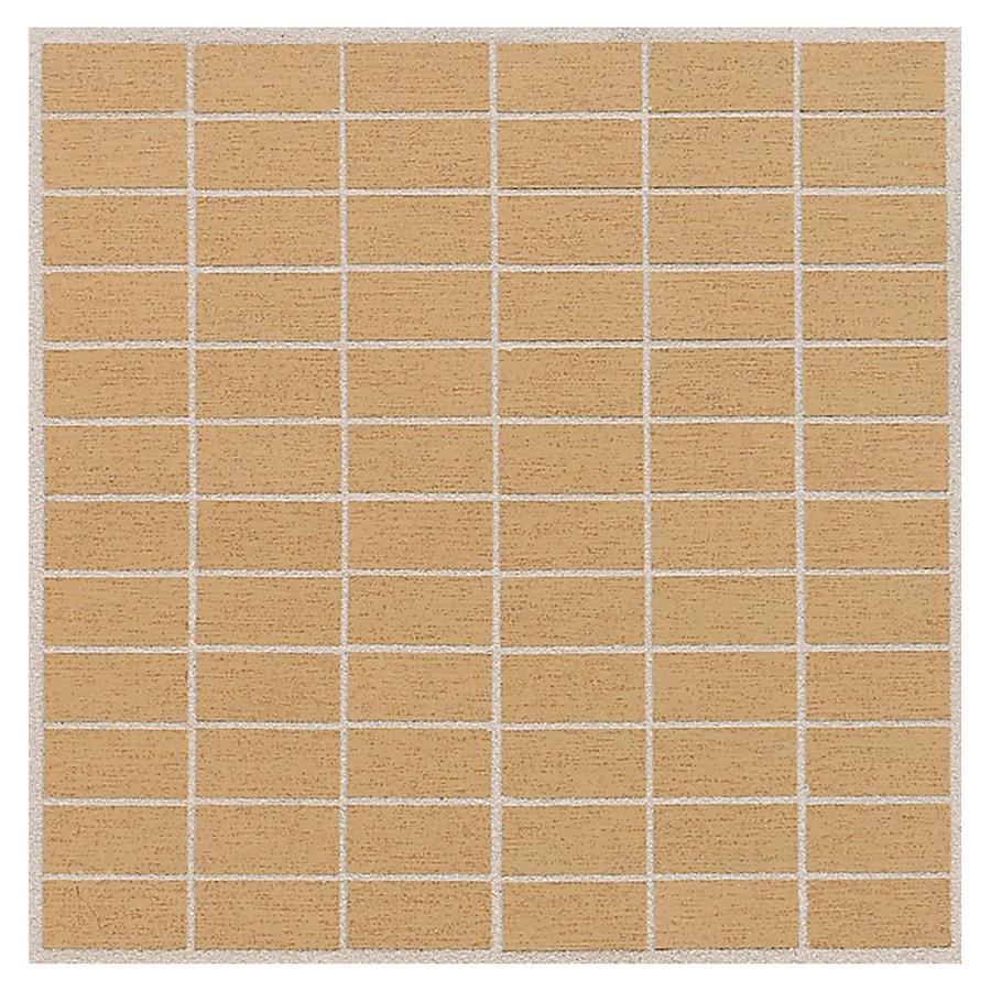 American Olean St Germain 11-Pack or Brick Mosaic Thru Body Porcelain Floor and Wall Tile (Common: 12-in x 12-in; Actual: 11.5-in x 11.5-in)