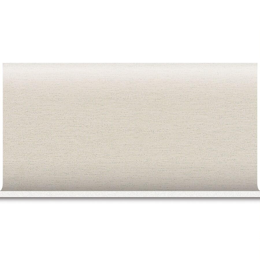 American Olean St Germain Blanc Porcelain Cove Base Tile (Common: 8-in x 10-in; Actual: 6-in x 12-in)