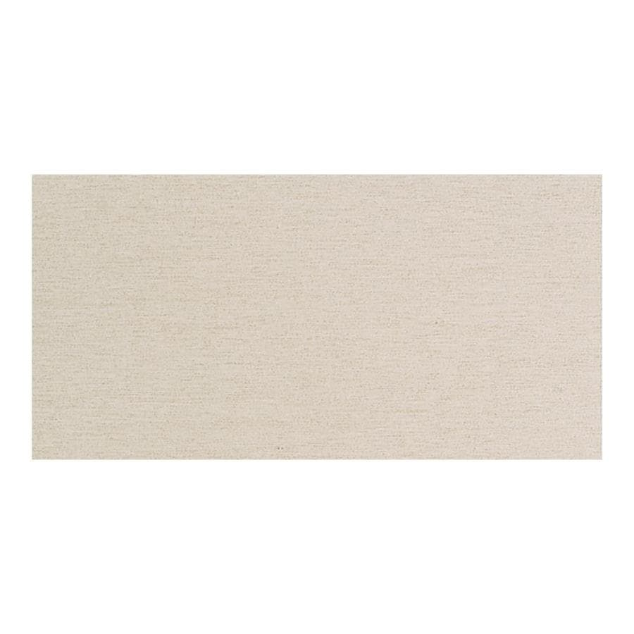 American Olean St Germain Creme Thru Body Porcelain Cove Base Tile (Common: 8-in x 10-in; Actual: 6-in x 12-in)