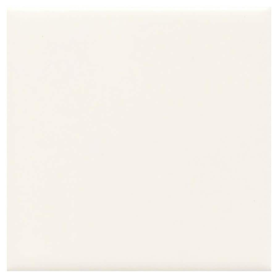 American Olean Bright 100-Pack White Gloss Ceramic Wall Tile (Common: 4-in x 4-in; Actual: 4.25-in x 4.25-in)