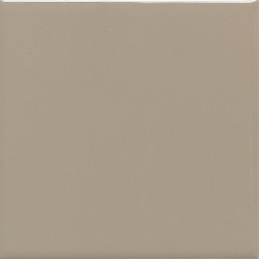 American Olean Matte 100-Pack Mushroom Matte Ceramic Wall Tile (Common: 4-in x 4-in; Actual: 4.25-in x 4.25-in)