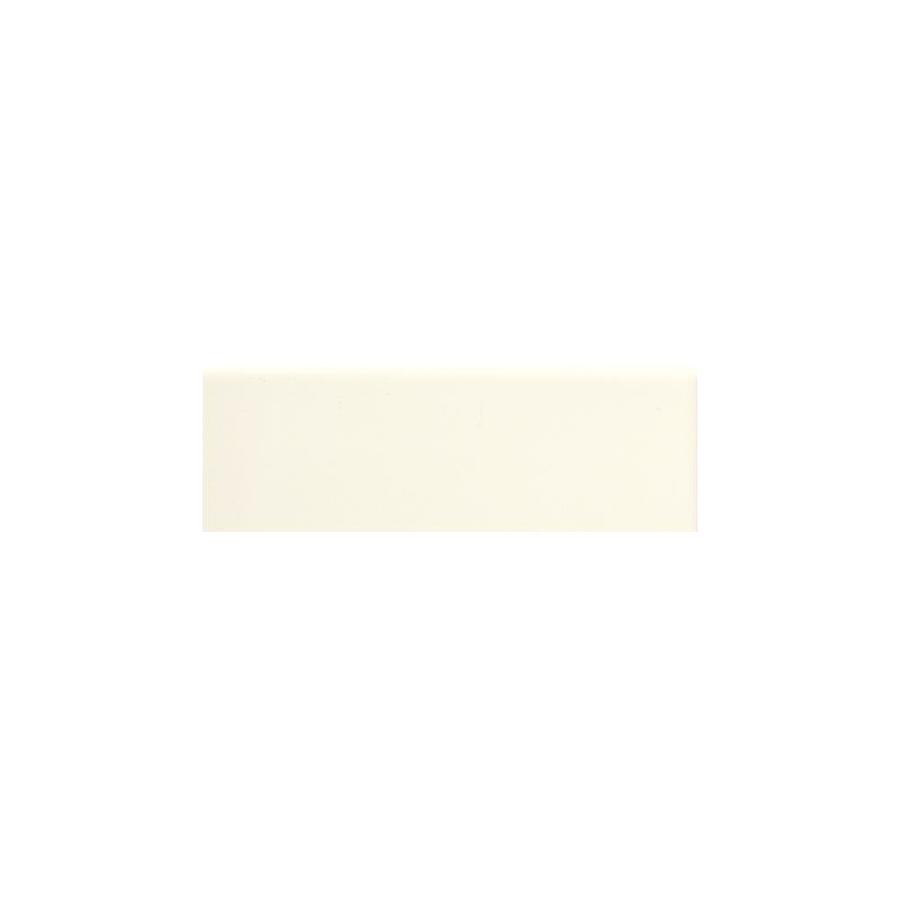 American Olean Matte Biscuit Matte Ceramic Mud Cap Tile (Common: 2-in x 6-in; Actual: 2-in x 6-in)