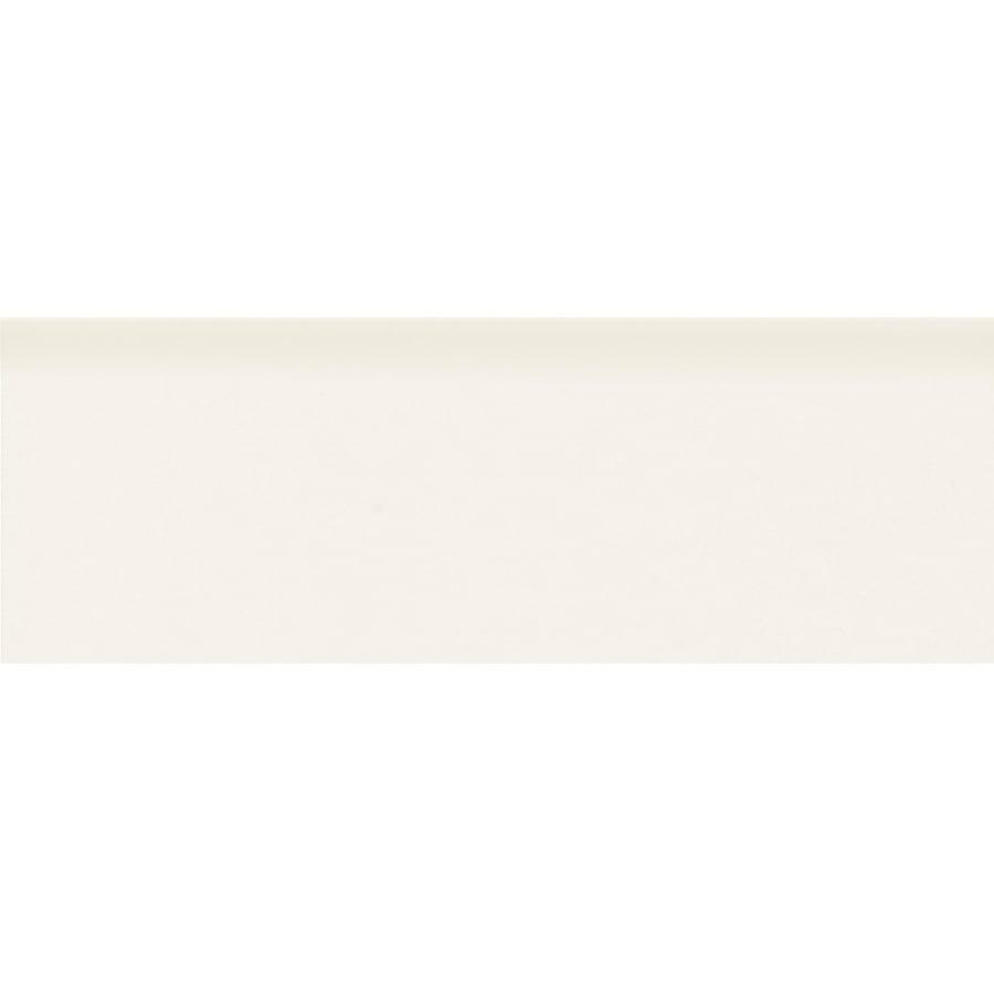 American Olean Bright White Ceramic Mud Cap Tile (Common: 2-in x 6-in; Actual: 2-in x 6-in)
