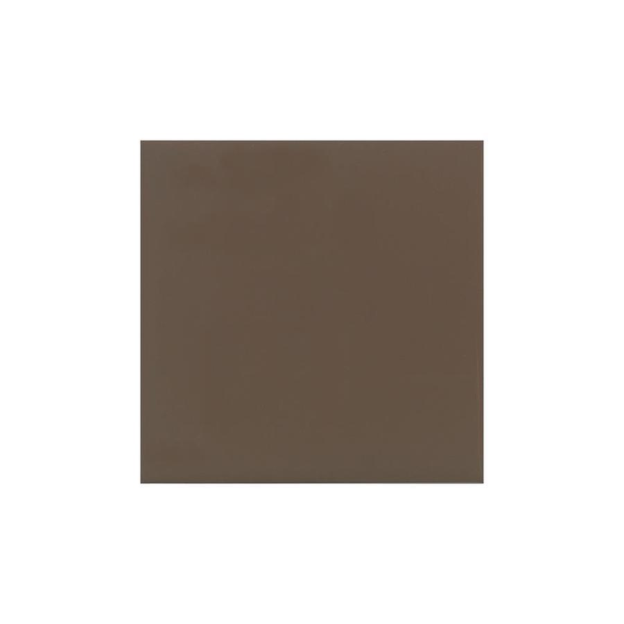 American Olean Bright Nutmeg Gloss Ceramic Bullnose Tile (Common: 4-in x 4-in; Actual: 4.25-in x 4.25-in)