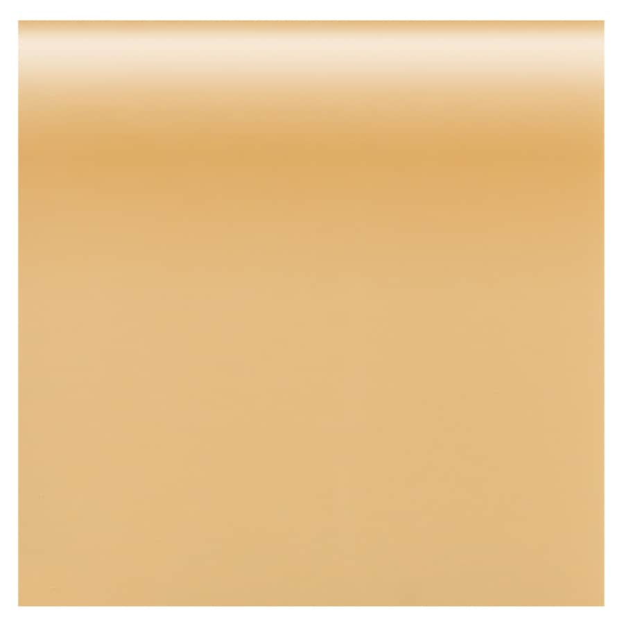 American Olean Bright Lemon Chiffon Gloss Ceramic Bullnose Tile (Common: 4-in x 4-in; Actual: 4.25-in x 4.25-in)