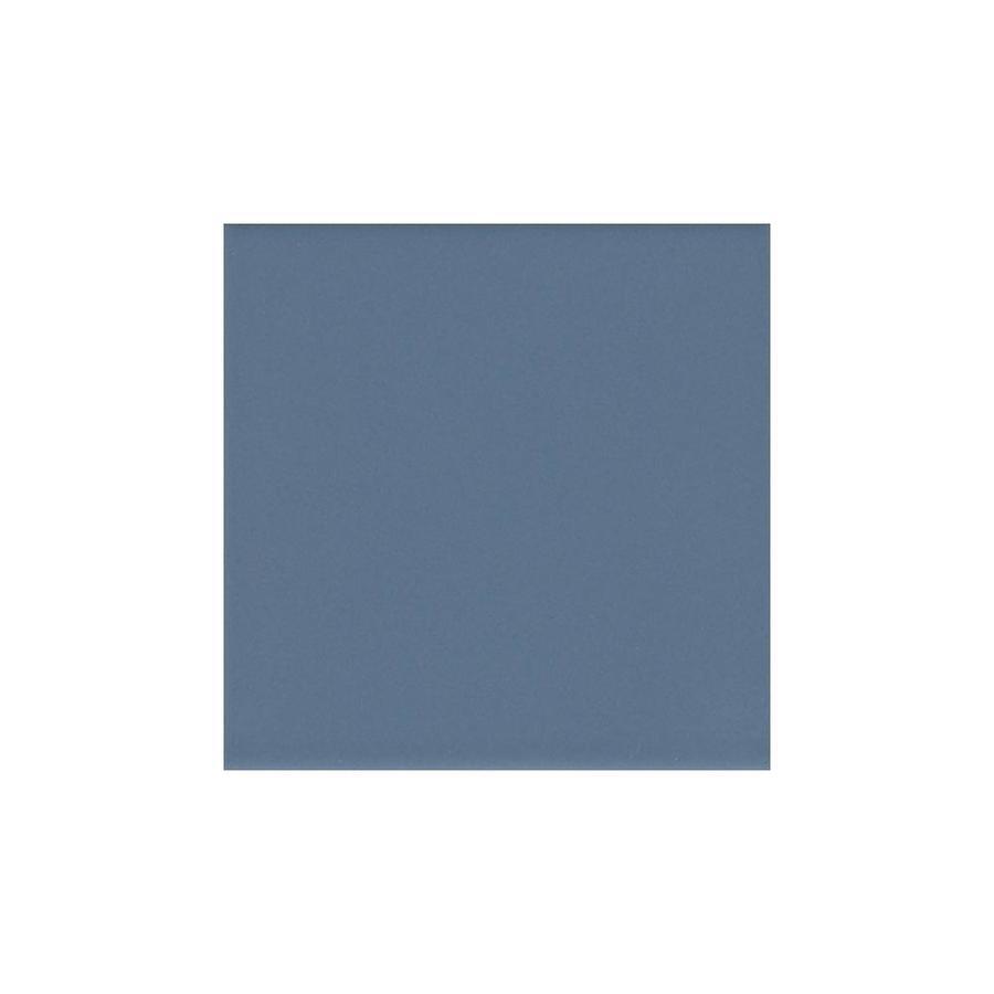 American Olean Bright Summer Rain Gloss Ceramic Bullnose Tile (Common: 6-in x 6-in; Actual: 6-in x 6-in)