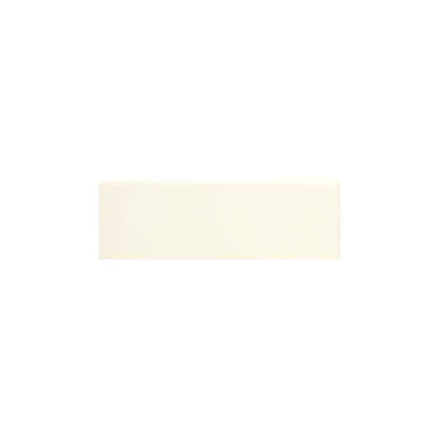 American Olean Matte Biscuit Matte Ceramic Bullnose Tile (Common: 2-in x 6-in; Actual: 2-in x 6-in)