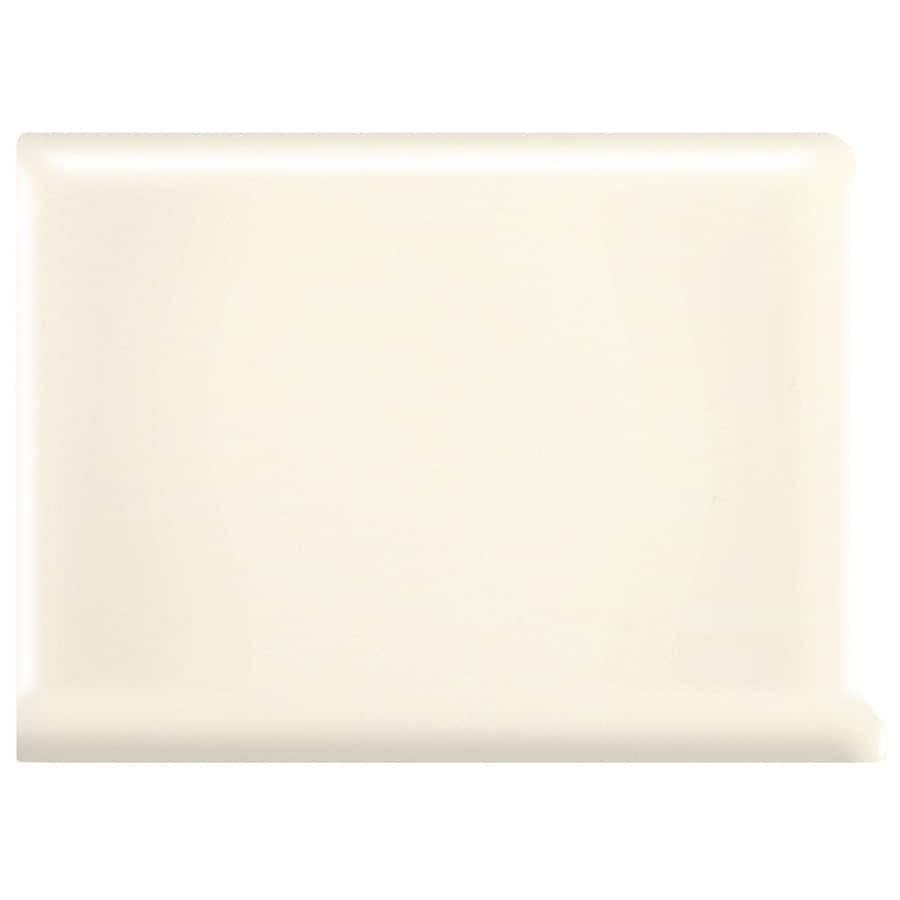 American Olean Bright Biscuit Ceramic Cove Base Tile (Common: 6-in x 6-in; Actual: 6-in x 6-in)