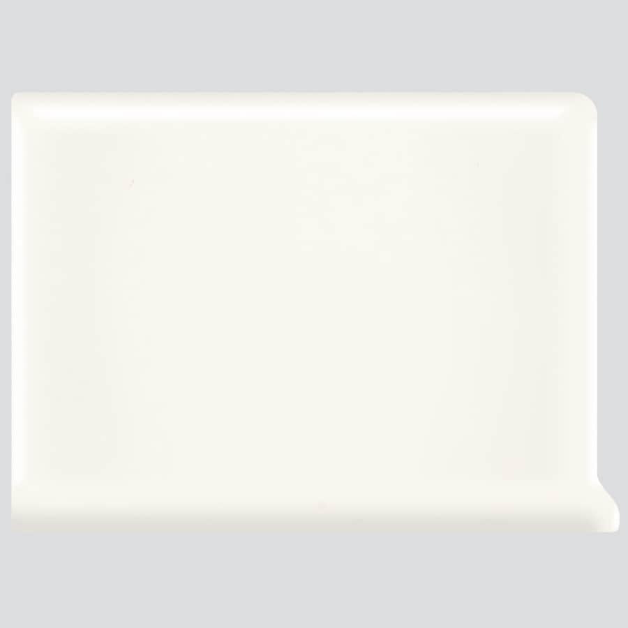 American Olean Bright White Ceramic Cove Base Tile (Common: 6-in x 6-in; Actual: 6-in x 6-in)