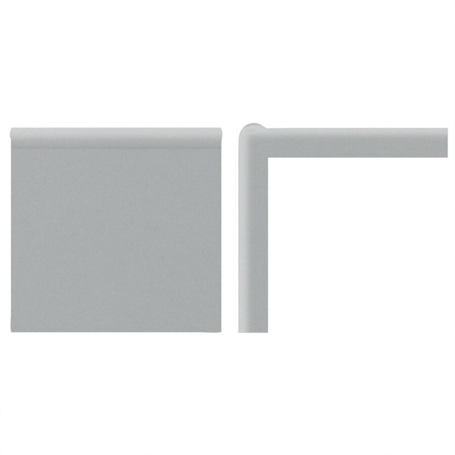 American Olean Matte Light Smoke Ceramic Mud Cap Tile (Common: 2-in x 2-in; Actual: 2-in x 2-in)