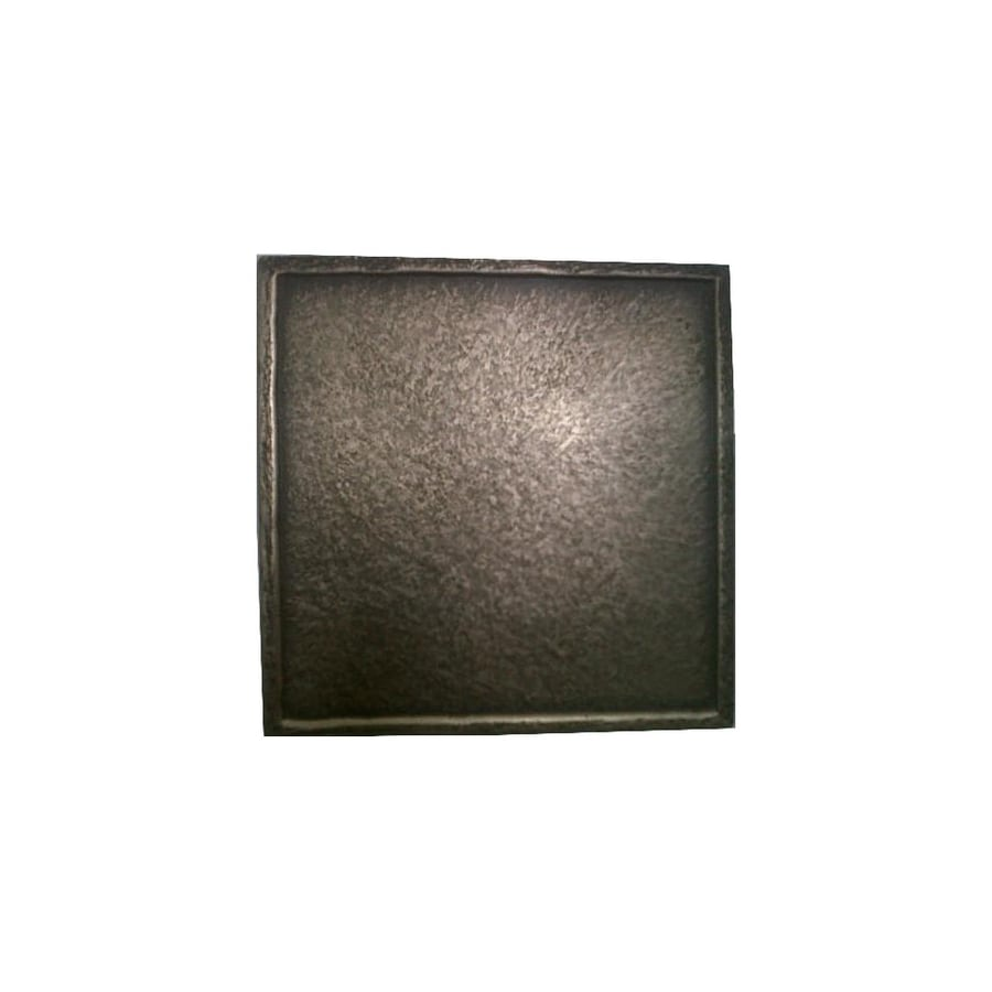 American Olean 4-in x 4-in Mansel Metals Bronze Resin Square Accent Tile