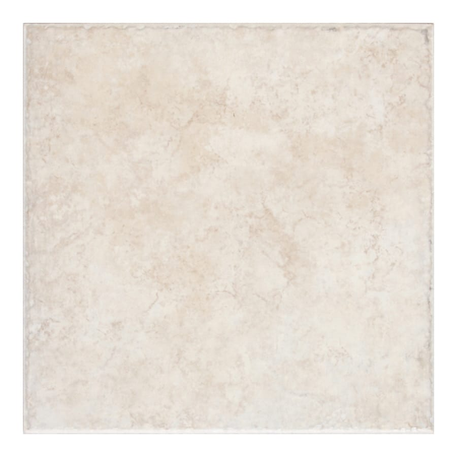 Shop american olean treymont 8 pack sand porcelain floor and wall tile common 18 in x 18 in Tile ceramic flooring