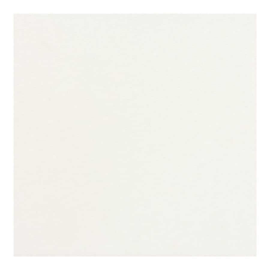 American Olean 15-Pack Urban Tones Designer White Solid Glazed Porcelain Floor Tile (Common: 12-in x 12-in; Actual: 11.81-in x 11.81-in)