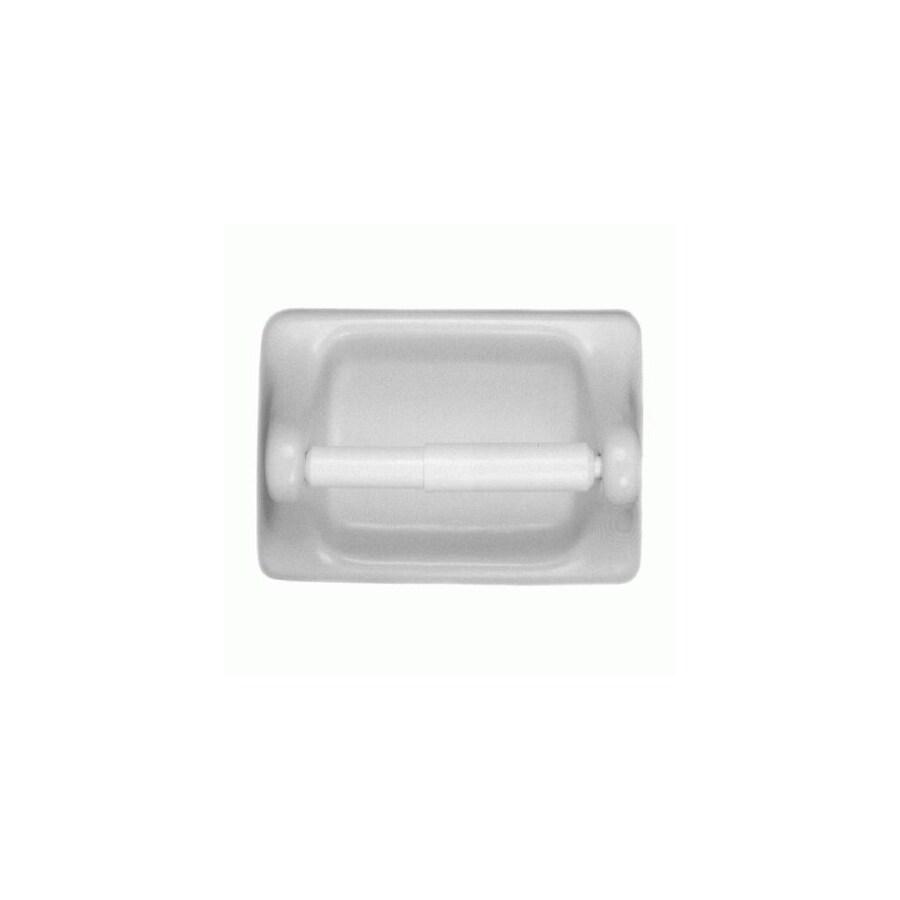 American Olean 2-Piece White Gloss Decorative Bathroom Hardware Set