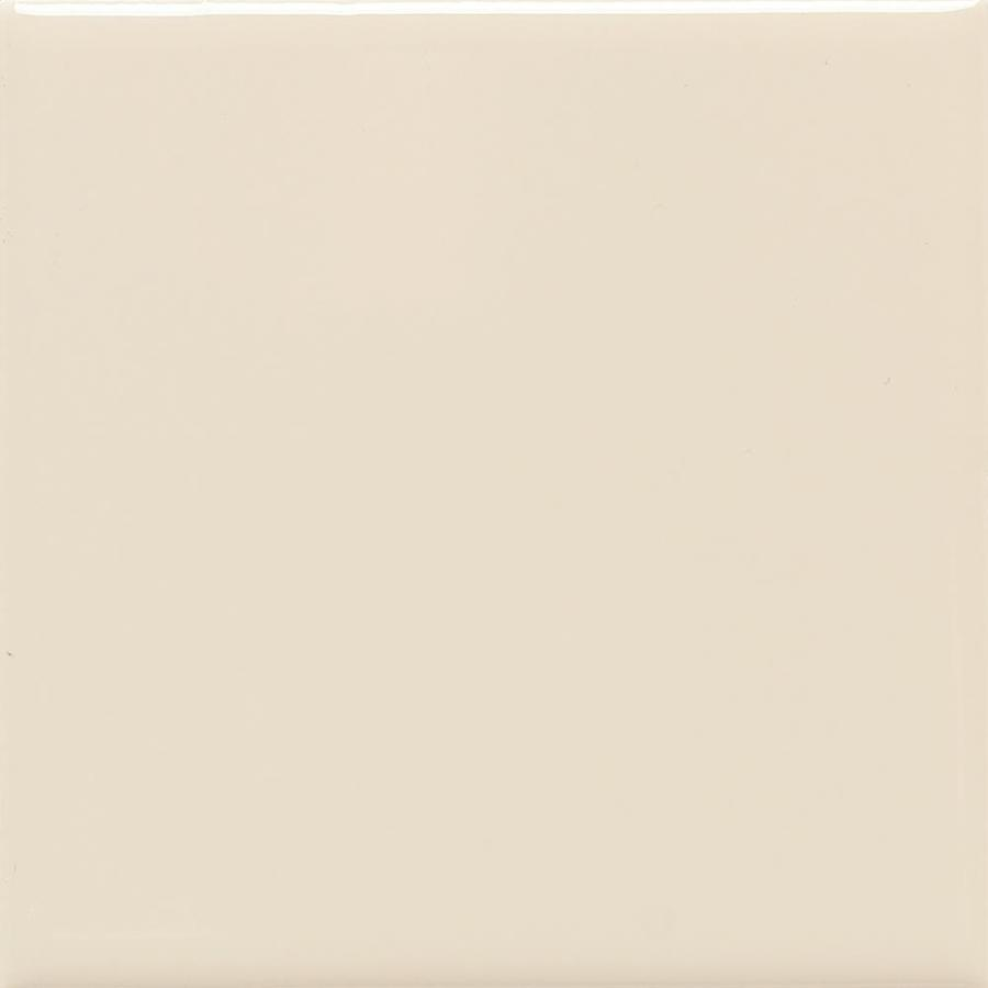 American Olean Bright 100-Pack Gloss Almond Ceramic Wall Tile (Common: 4-in x 4-in; Actual: 4.25-in x 4.25-in)