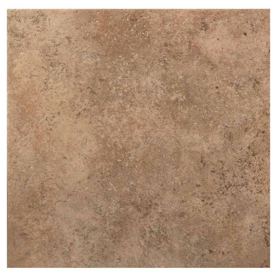 American Olean 12-in x 12-in Barella Mocha Ceramic Floor Tile