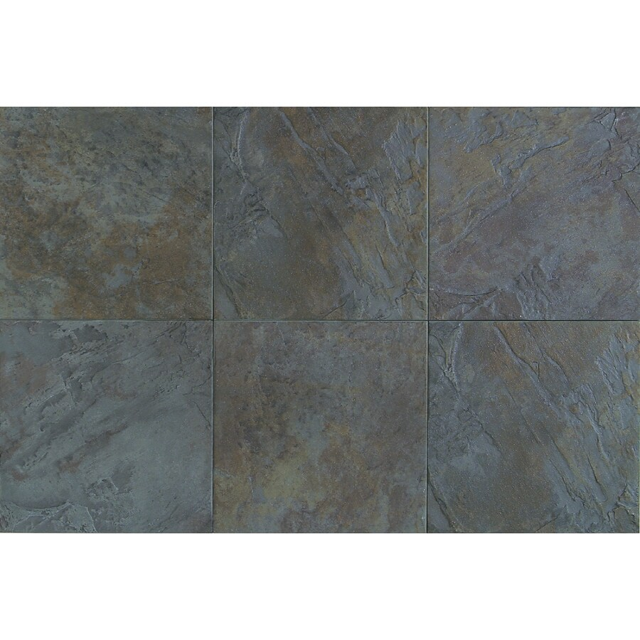 American Olean 15-Pack Highland Ridge Autumn Thru Body Porcelain Floor Tile (Common: 12-in x 12-in; Actual: 11.87-in x 11.87-in)