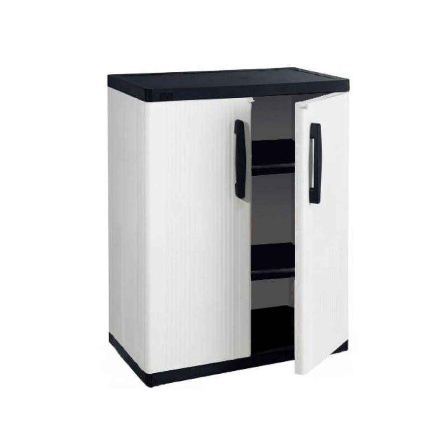 BLACK & DECKER 34.5-in W x 36.25-in H x 17.5-in D Plastic Garage Cabinet