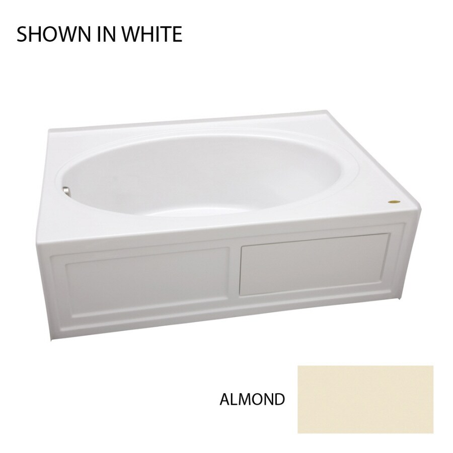 "Jacuzzi 60""L x 22""H Almond Skirt"