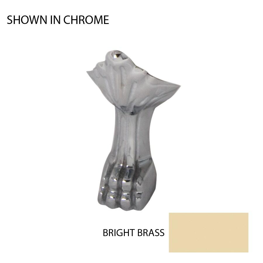 Jacuzzi 4-Pack Bright Brass Bathtub Feet