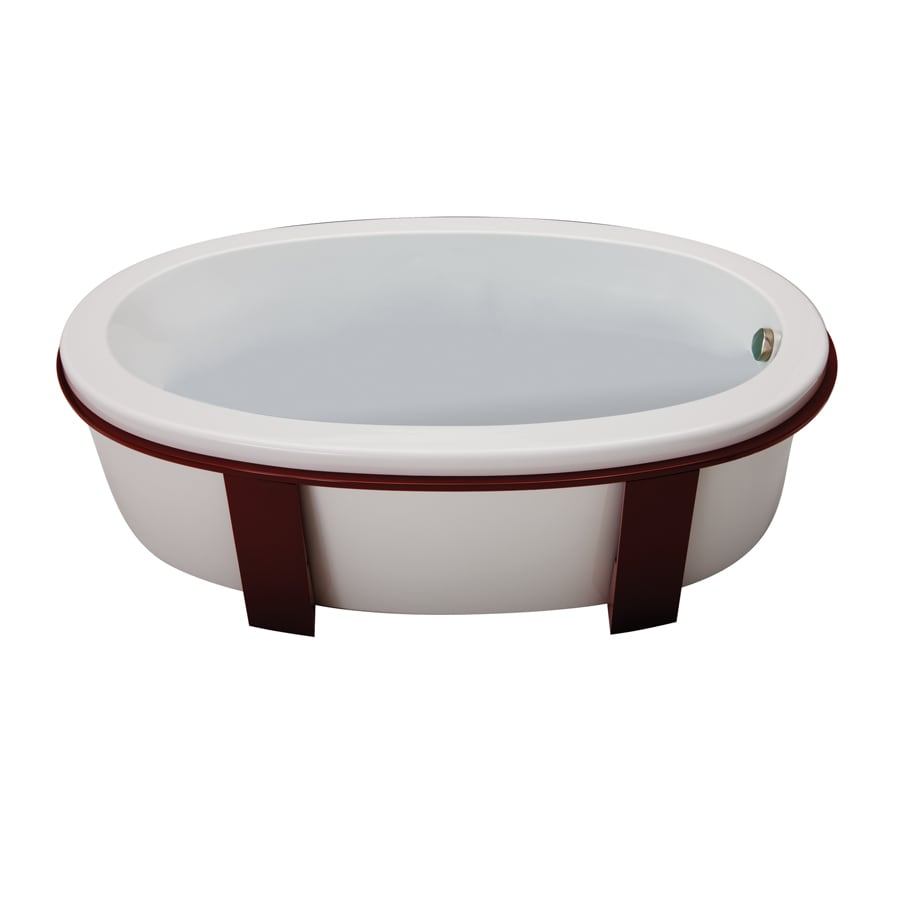 Jacuzzi 4-Pack Red Bathtub Base
