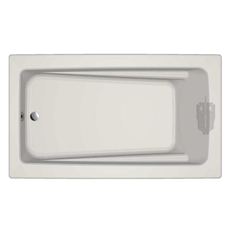 Jacuzzi Primo 72-in L x 42-in W x 21-in H White Acrylic Rectangular Drop-in Air Bath